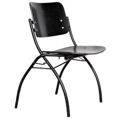 Ebonized Plywood Chair by Ilmari Tapiovaara for Thonet