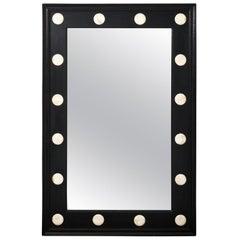 Ebonized Rectangular Mirror
