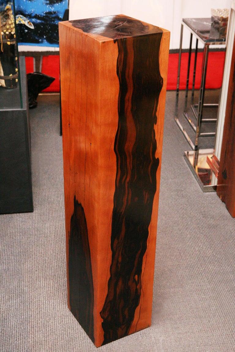 Indonesian Ebony Column For Sale