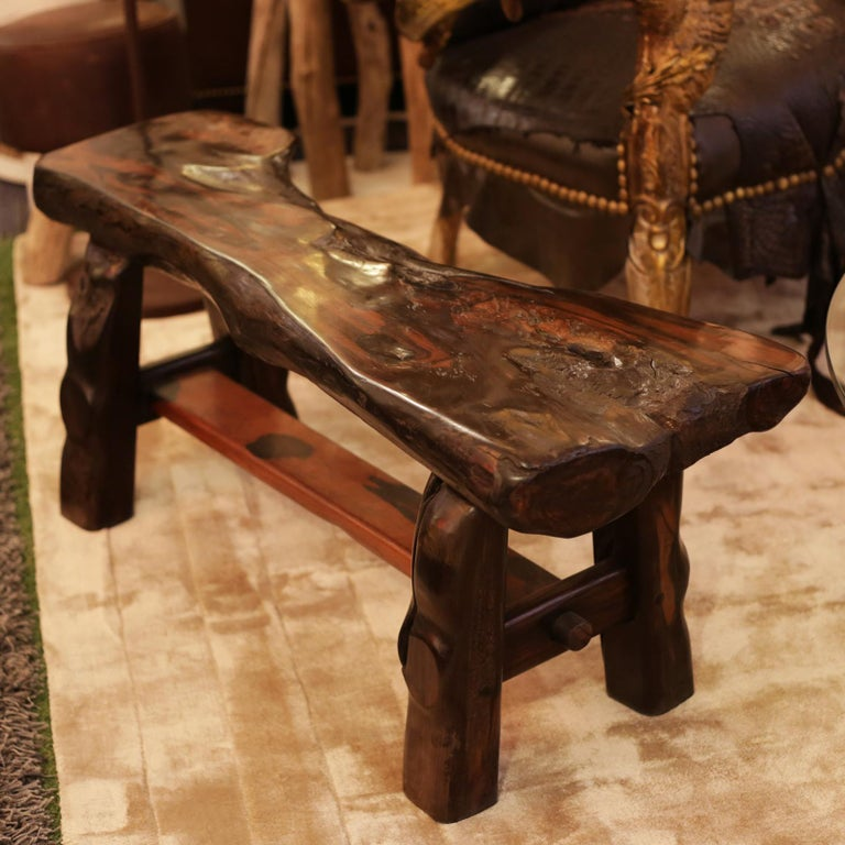 Malagasy Ebony Straight Bench For Sale
