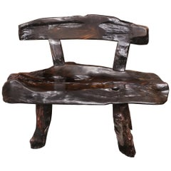 Ebony Solid Wood A- Bench A