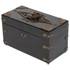 Ebonized and Decorated Box