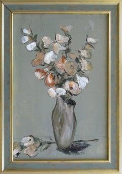 Flowers. 1997. Canvas, oil, 59x40 cm