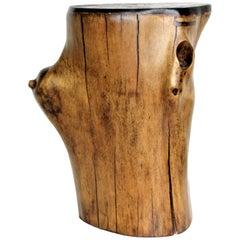 Organic Modern Wood Stump Table