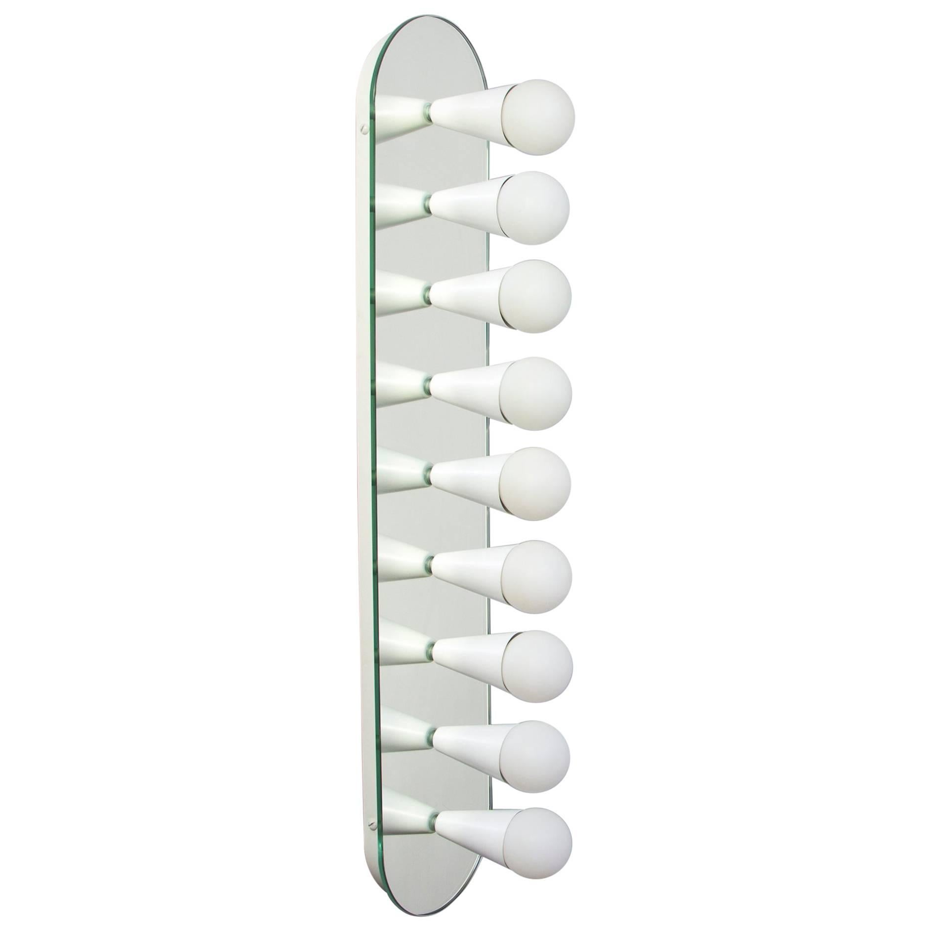 Echo Nine Sconce in White, from Souda, Made to Order