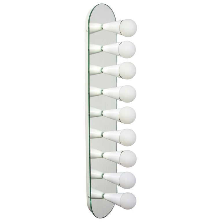 Echo Nine Sconce in White, from Souda, Made to Order For Sale
