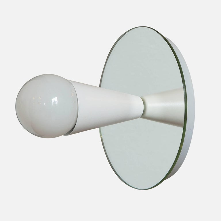 American Echo One Sconce/Flush Mount in White, from Souda, in Stock For Sale