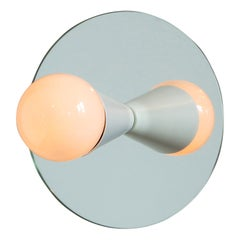 Echo One Sconce/Flush Mount in White, from Souda, in Stock