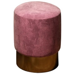 Echoes Pink Pouf