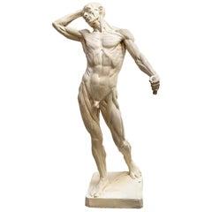 """""""Echorchè Man"""", Resin Sculpture by Edoard Lanteri"""