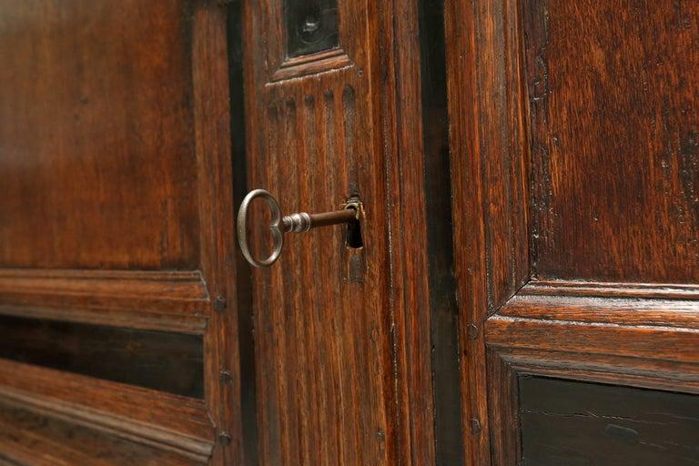 Eclectic Antique Dutch Renaissance Cabinet For Sale 3