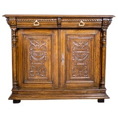 Eclectic Cabinet from the Late 19th Century