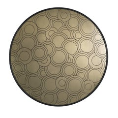 Eclectic Sconce with Circles