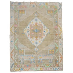 Eclectic Turkish Wool Cotton Kars Room Size Rug