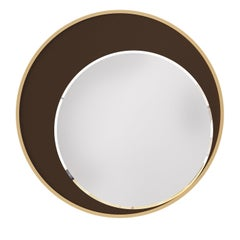 Eclipse Chocolate Brown Mirror
