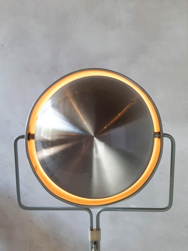Dutch Eclipse Floor Lamp by Jelles for RAAK, 1960s For Sale