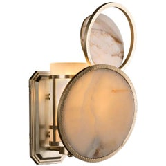 Eclipse Left Wall Sconce by Badari