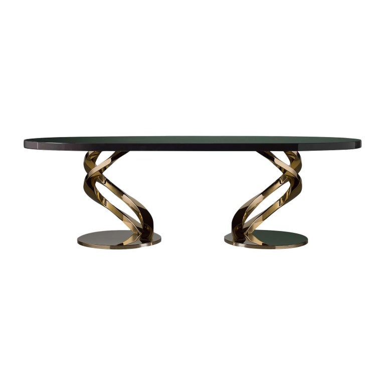 Eclipse Oval Dining Table For Sale