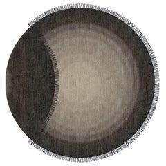 Eclipse Round Grey Area Rug