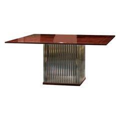 Eclipse Square Dining Table by Tura