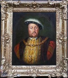 Portrait Of King Henry VII (1491-1447), 18th Century English School