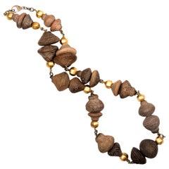 Ecuadorian Ceramic Bead Necklace