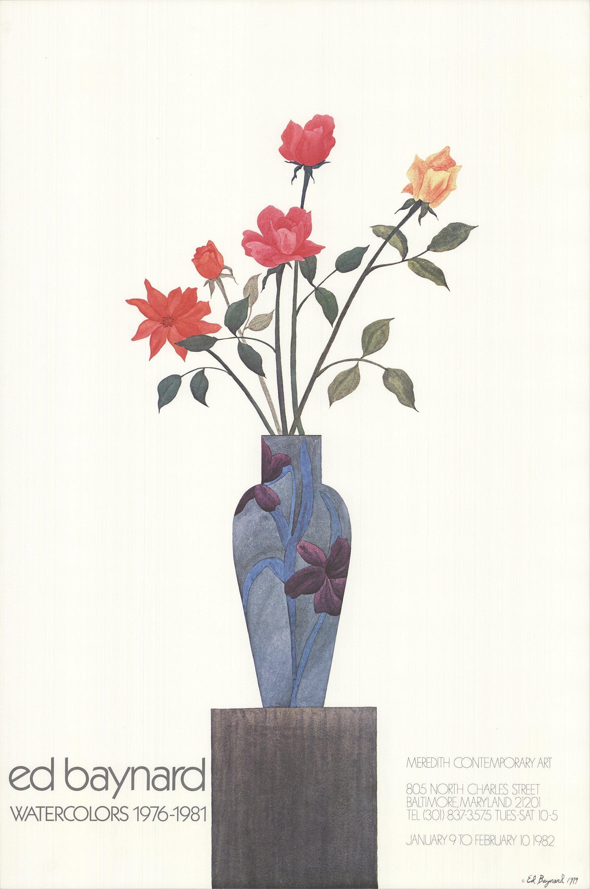 1982 After Ed Baynard 'Watercolors' USA Offset Lithograph