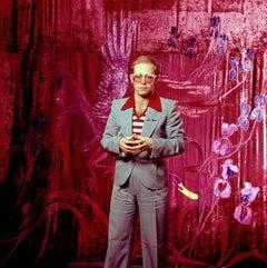 Elton John, 1974 (Ed Caraeff - Colour Photography)