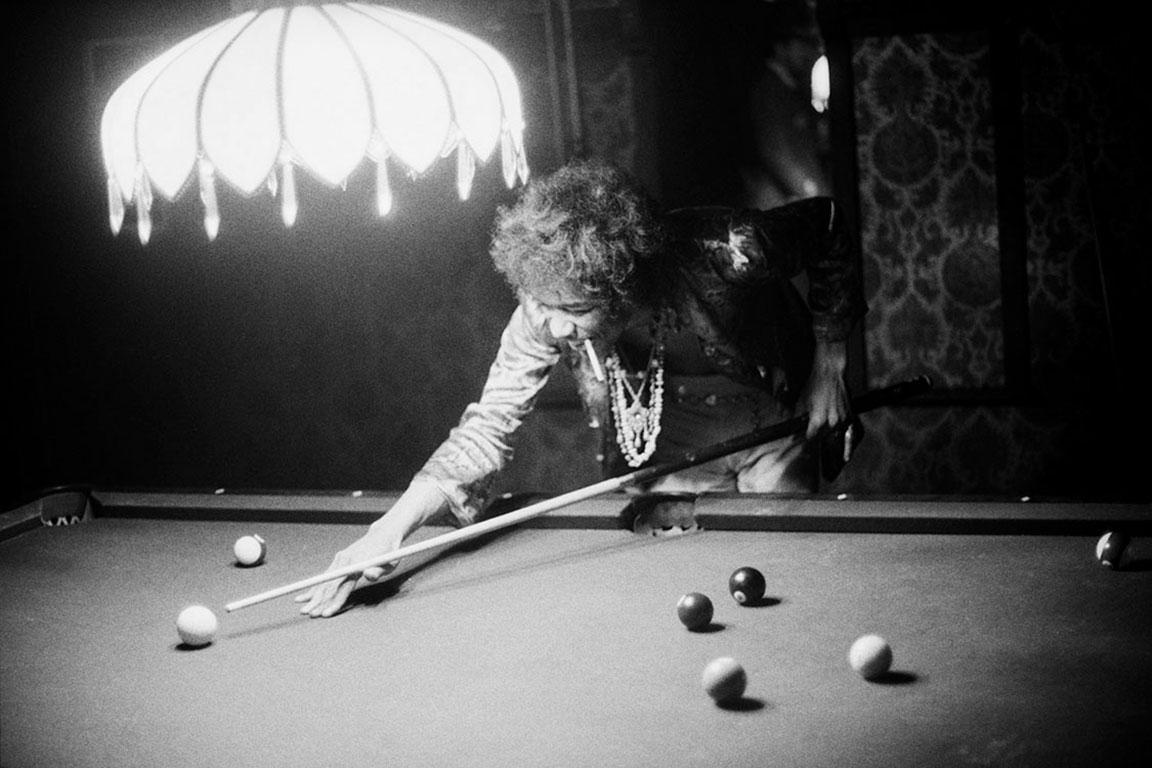 Jimi Hendrix, 1967 (Ed Caraeff - Black and White Photography)