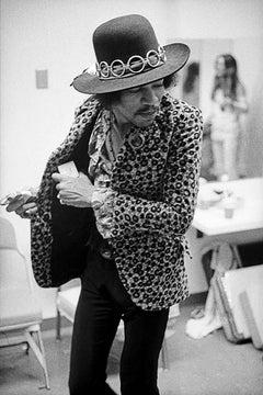 Jimi Hendrix, 1968 (Ed Caraeff - Black and White Photography)