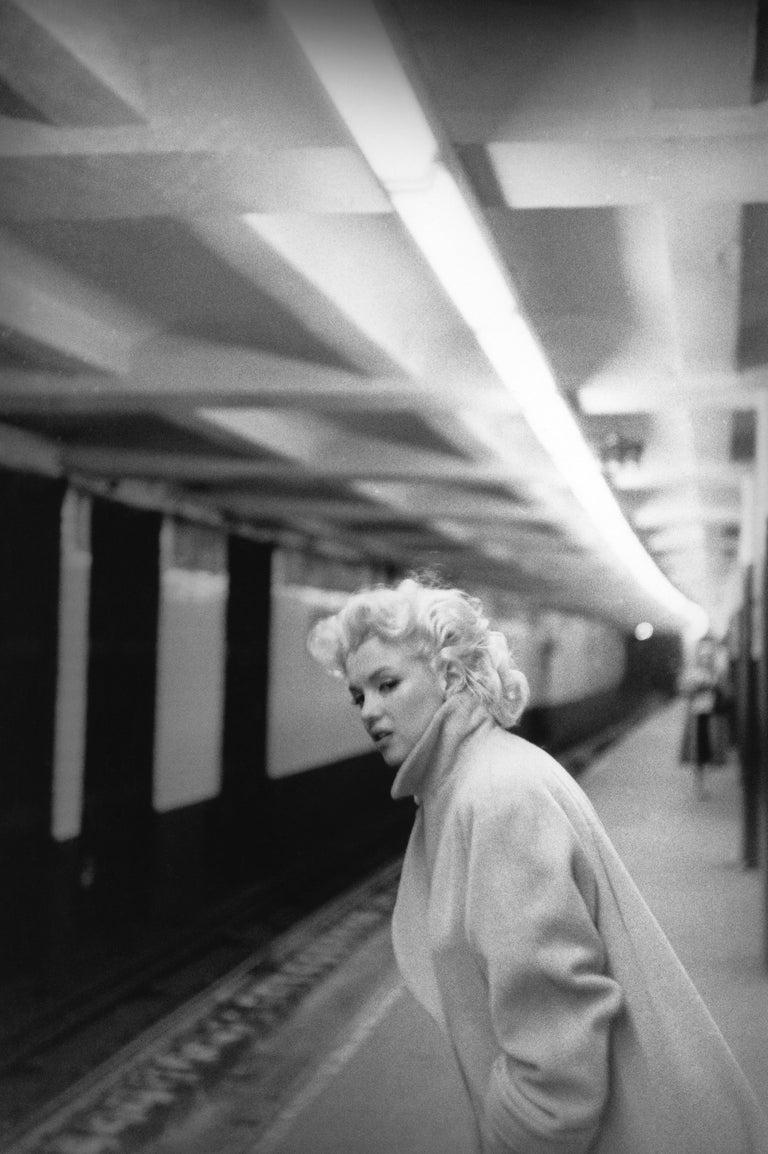 Ed Feingersh Portrait Photograph - Marilyn In Grand Central Station (1955) Silver Gelatin Fibre Print