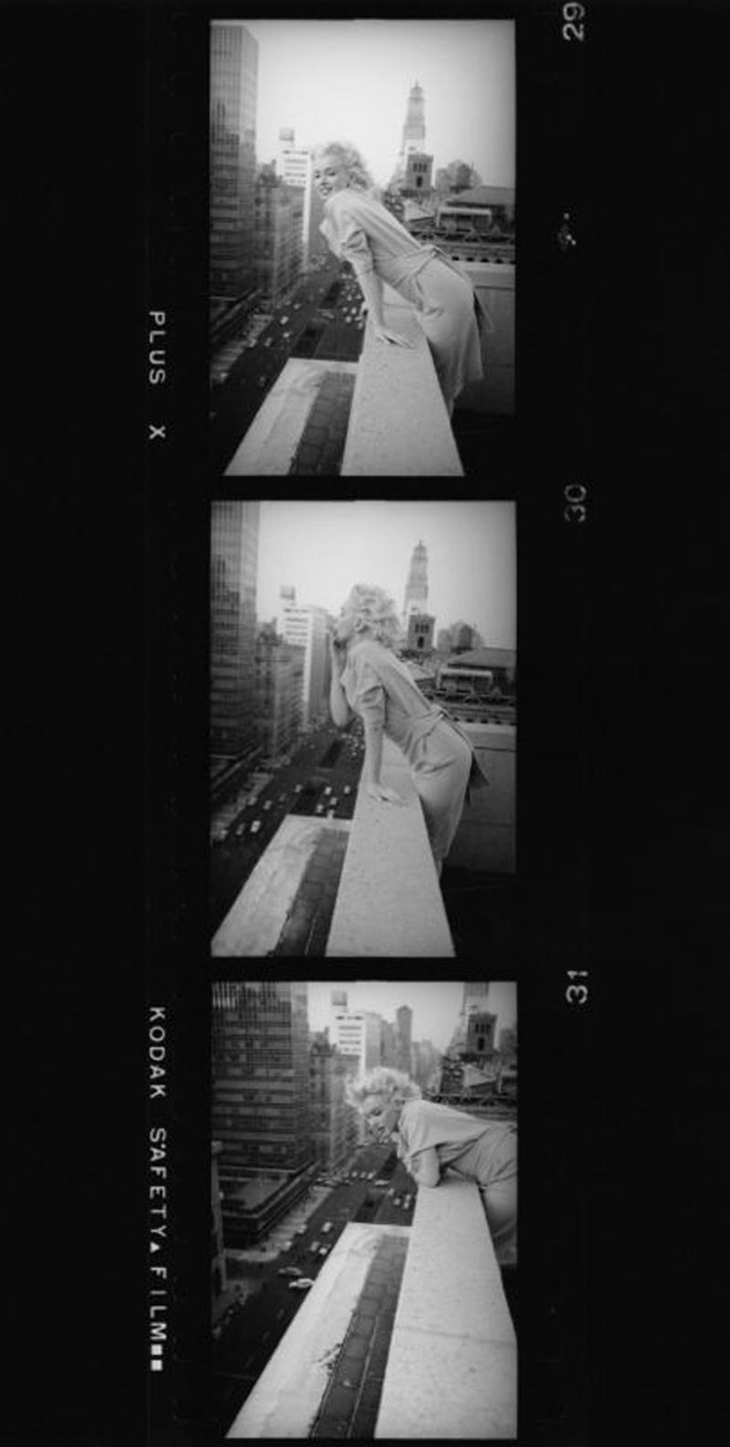 Ed Feingersh Marilyn Monroe Contact Strip For Sale At 1stdibs