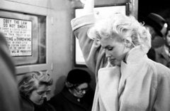Marilyn Monroe In Grand Central Station - limited edition silver gelatin print