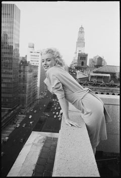 Marilyn On The Roof - huge Oversize print