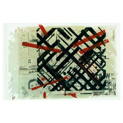 "Ed Moses ""Ikuru Speak-No"" Silkscreen Print Limited 223/250 Signed"