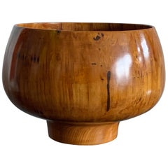 Ed Moulthrop Figured Tulipwood Bowl