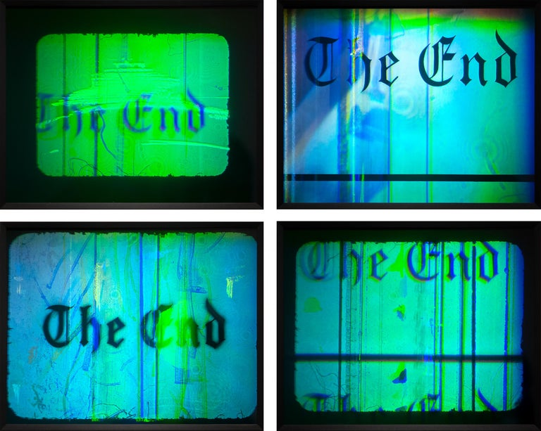 The End - Mixed Media Art by Ed Ruscha