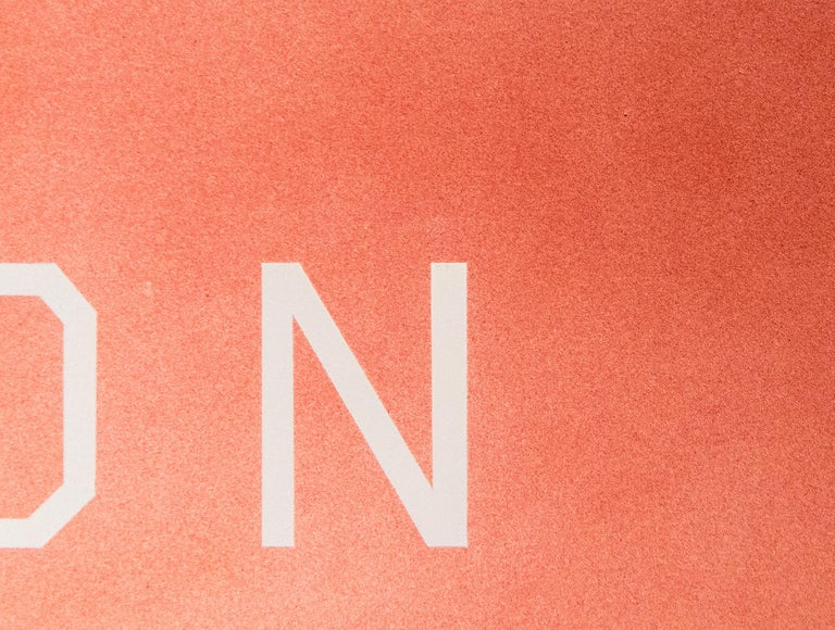 A painting by Ed Ruscha.