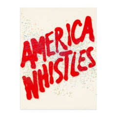 America Whistles, from America: The Third Century, 1975, Pop Art, Conceptual Art