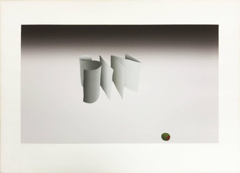 "Ed Ruscha, ""Sin With Olive"", 1970 Lithograph - Print by Ed Ruscha"