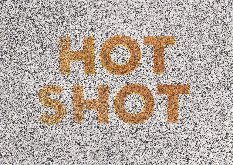 Ed Ruscha Abstract Print - Hot Shot