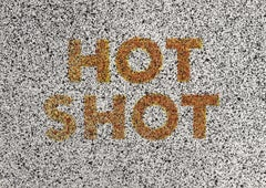 Hot Shot -- Print, Lithograph, Eighteen Small Prints, Text Art by Ed Ruscha