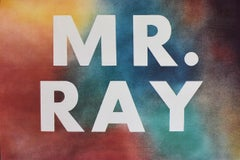 Mr. Ray- American Pop Art, Post War, Modern Master