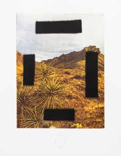 Noose Around Your Neck -- Screen Print, Landscape, Contemporary Art by Ed Ruscha