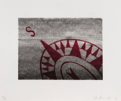 South -- Print, Lithograph, Text Art by Ed Ruscha