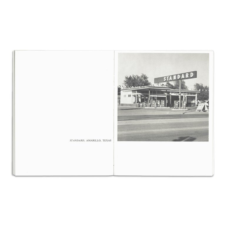 Twentysix Gasoline Stations, Pop Art, Conceptual Art, 20th Century - Gray Figurative Print by Ed Ruscha
