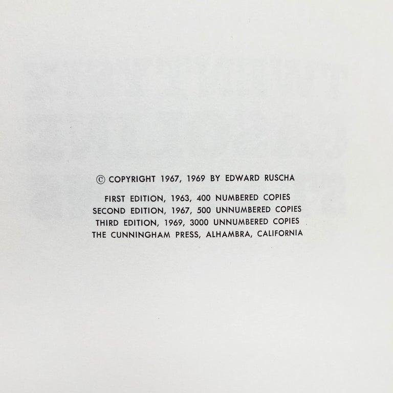 Ed Ruscha (American, b.1937) Twentysix Gasoline Stations, 1963/1969 Medium: Artist's book (48 pages) Dimensions: 17.8 x 14.2 cm Third edition (1969): 3000 unnumbered copies Publisher: The Cunningham Press, Alhambra, CA Catalogue raisonné: