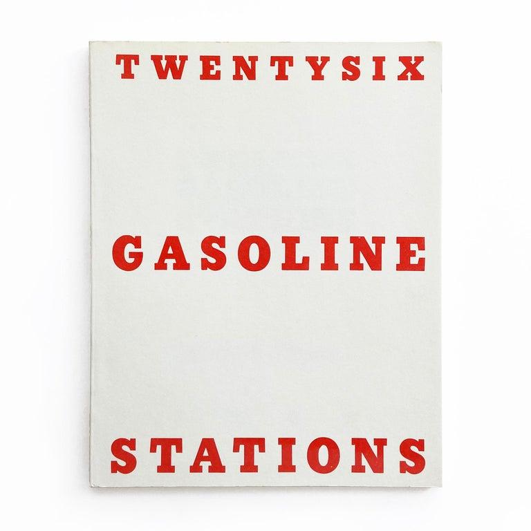 Ed Ruscha Figurative Print -  Twentysix Gasoline Stations, Pop Art, Conceptual Art, 20th Century