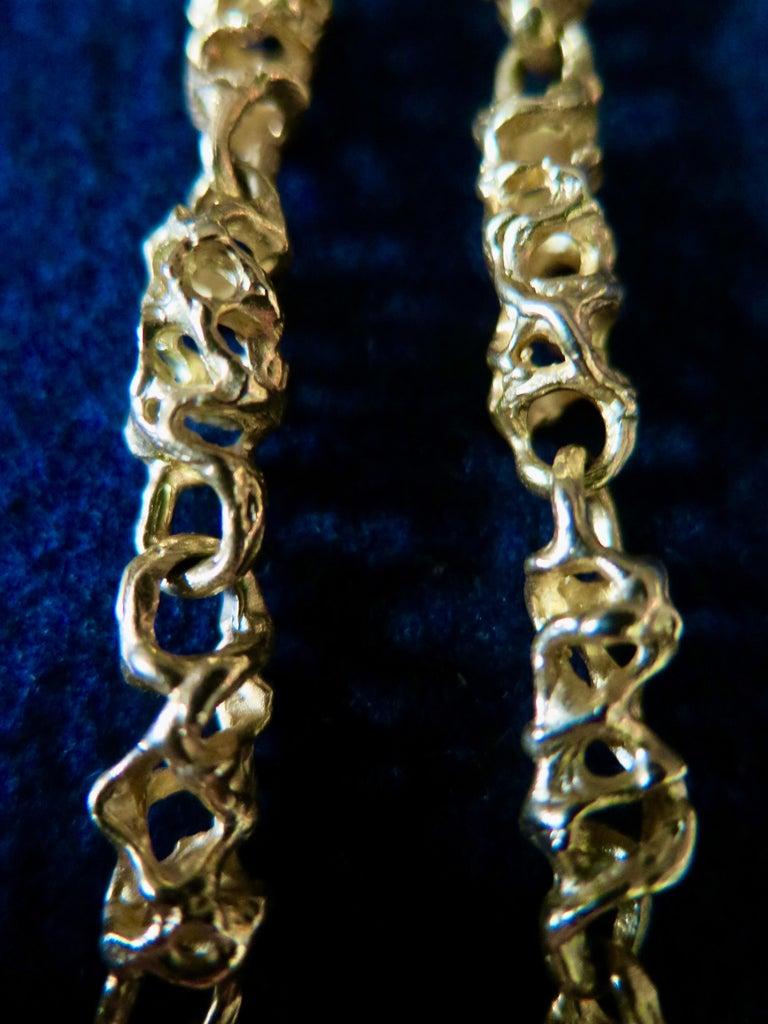 Ed Wiener 18k Gold Necklace 2