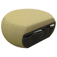 Edam Fabric Ottoman with Drawer